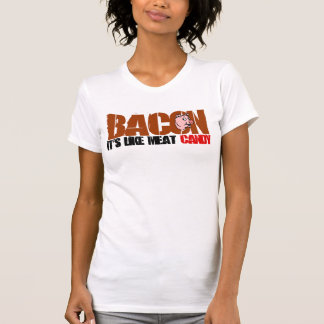 Lard il est comme la sucrerie de viande t-shirt