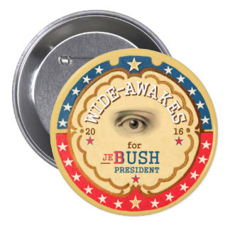 Large-Se réveille pour Jeb Bush 2016 Pin's