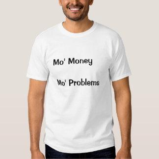 L'argent ne font pas = bonheur t-shirts