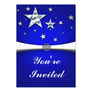 L'argent tient le premier rôle l'invitation carton d'invitation  12,7 cm x 17,78 cm