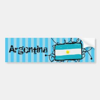 L'Argentine Autocollant De Voiture