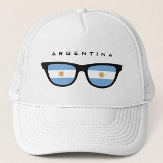 L'Argentine ombrage le casquette fait sur commande