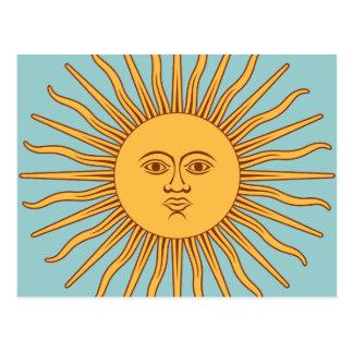 """L'Argentine """"solénoïde De Mayo """" Carte Postale"""