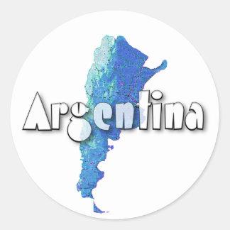 L'Argentine Sticker Rond