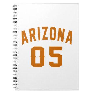 L'Arizona 05 conceptions d'anniversaire Carnets