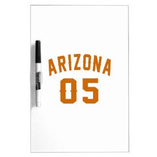 L'Arizona 05 conceptions d'anniversaire Tableaux Effaçables Blancs