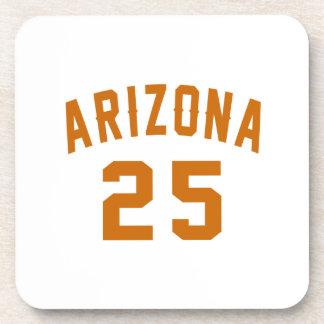 L'Arizona 25 conceptions d'anniversaire Dessous-de-verre