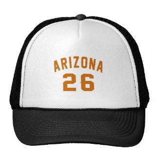 L'Arizona 26 conceptions d'anniversaire Casquette De Camionneur