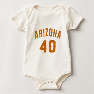 L'Arizona 40 conceptions d'anniversaire Body