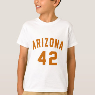 L'Arizona 42 conceptions d'anniversaire T-shirt