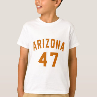 L'Arizona 47 conceptions d'anniversaire T-shirt