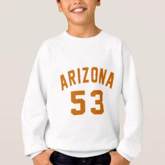 L'Arizona 53 conceptions d'anniversaire Sweatshirt
