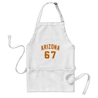 L'Arizona 67 conceptions d'anniversaire Tablier
