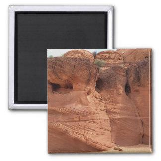 L'ARIZONA - canyon supérieur A d'antilope - roche Magnet Carré