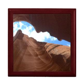L'ARIZONA - canyon supérieur B d'antilope - roche Grande Boîte À Bijoux Carrée