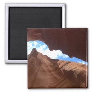 L'ARIZONA - canyon supérieur B d'antilope - roche Magnet Carré