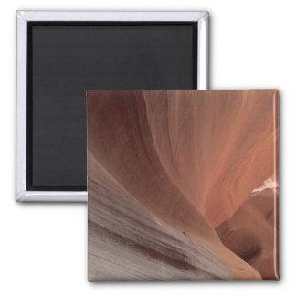 L'ARIZONA - canyon supérieur E d'antilope - roche Magnet Carré