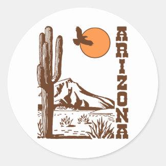 L'Arizona Sticker Rond