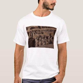 L'armée des guerriers de terre cuite à l'empereur t-shirt