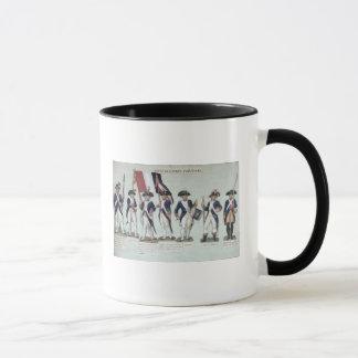 L'armée parisienne pendant le Français Mug