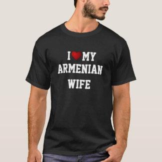 L'ARMÉNIE : J'AIME MON T-shirt ARMÉNIEN d'ÉPOUSE