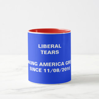 Larmes de libéral - tasse d'élection de courrier