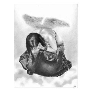 Larmes en carte postale de ciel