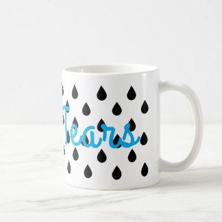 Larmes masculines mug