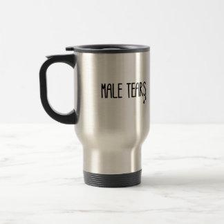 Larmes masculines mug de voyage en acier inoxydable