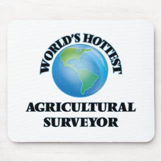 L'arpenteur agricole le plus chaud du monde tapis de souris