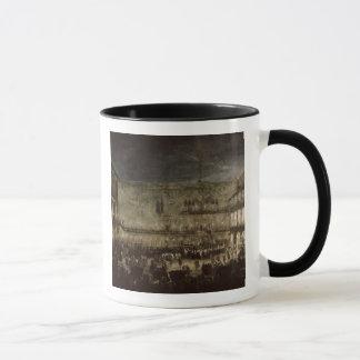 L'arrivée de princesse Amelia de la Saxe, dans une Mug