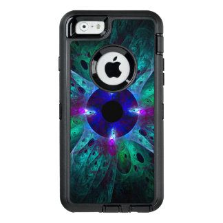 L'art abstrait d'oeil coque OtterBox iPhone 6/6s