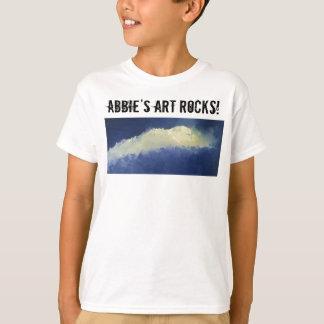 L'art d'Abbie bascule le T-shirt