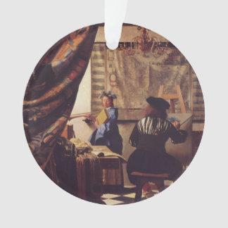 L'art de la peinture par Johannes Vermeer