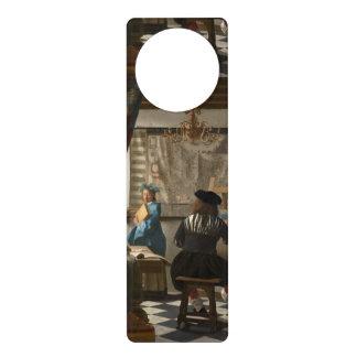 L'art de la peinture par Johannes Vermeer Cartons De Porte