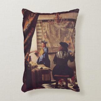 L'art de la peinture par Johannes Vermeer Coussin Déco