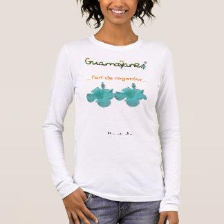 L'art de regarder©> Guamayane© > série lespri T-shirt À Manches Longues