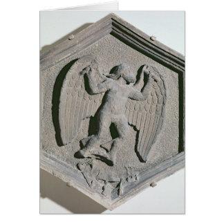 L'art du vol, Daedalus, hexagonal Carte De Vœux