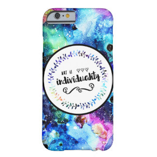 L'art est individualité coque barely there iPhone 6