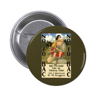 L'art vintage d'étiquette de produit, non au CCB, Pin's