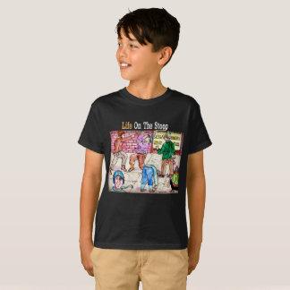 L'artiste a conçu le T-shirt de garçons