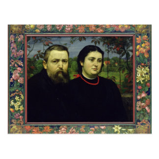 L'artiste avec son épouse Bonicella, 1887 Cartes Postales