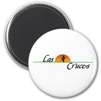 Las Cruces Magnet Rond 8 Cm