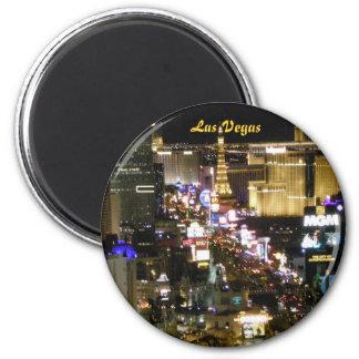 Las Vegas Boulevard Magnet Rond 8 Cm