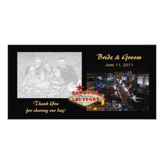 Las Vegas épousant des cartes photos de Merci Cartes De Vœux Avec Photo