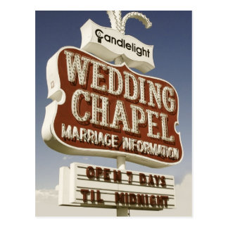 Las Vegas épousant la rétro carte postale de