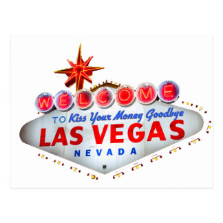 Las Vegas fabuleux Carte Postale