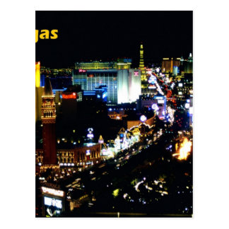 Las Vegas la bande la nuit Carte Postale