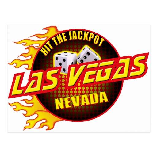 Las Vegas, Nevada - frappez le gros lot #2 Cartes Postales