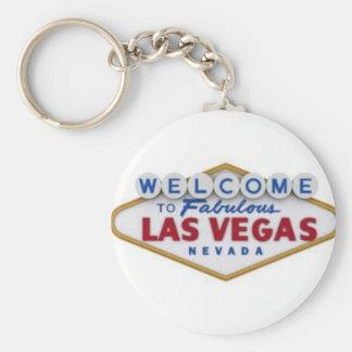 Las Vegas Porte-clé Rond